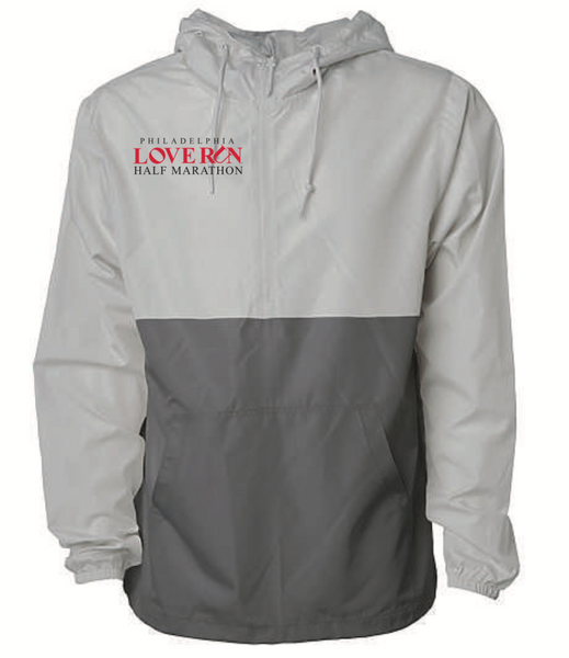 Waterproof 1/2 Zip: Philadelphia Love Run