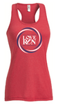 Women's Performance Tank: Philadelphia Love Run