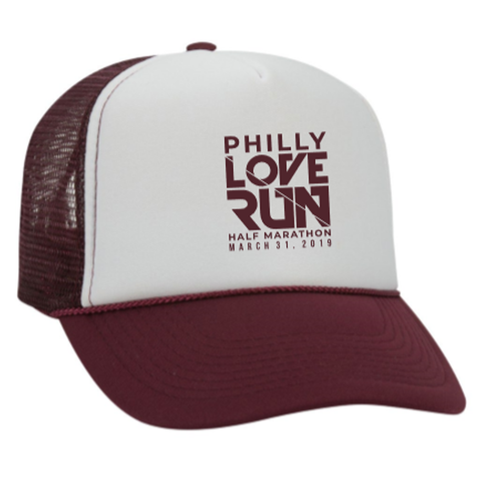 Philadelphia Love Run 2019 Trucker Hat - Unisex