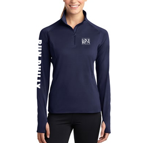 Philadelphia Love Run 1/4 Zip - Women's