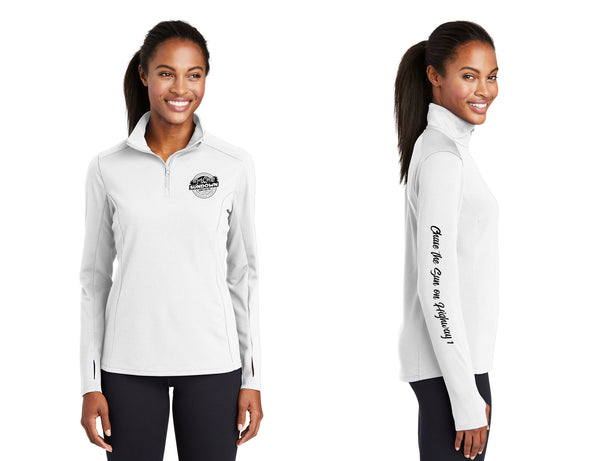 Surf City Sundown: 1/4 Zip Performance Top, Women's