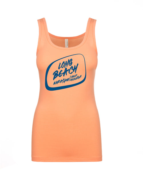 Long Beach: Orange Logo Tank