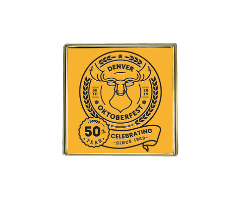 Denver Oktoberfest 50th Anniversary Pin
