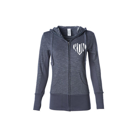 Run California: Full Zip Hoodie