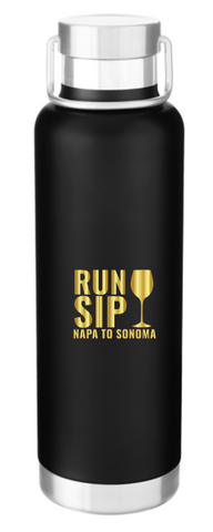Run. Sip. Napa to Sonoma Water Bottle
