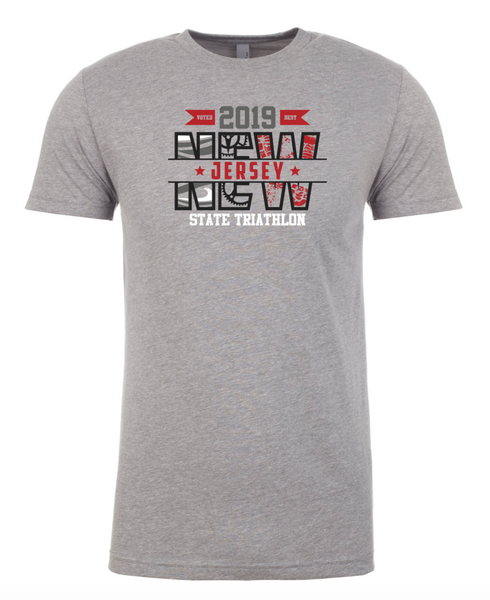 New Jersey State Triathlon Unisex Graphic Tee