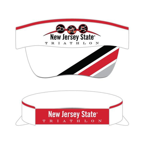 New Jersey State Triathlon Visor