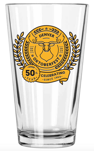 Denver Oktoberfest: Pint Glass