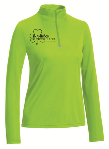 Shamrock Run Portland Women's 1/4 Zip