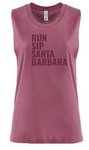 Run.Sip.Santa Barbara Tank