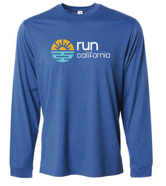 Run California Unisex Long Sleeve Tee