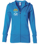 Run California: Women's Full Zip Hoodie