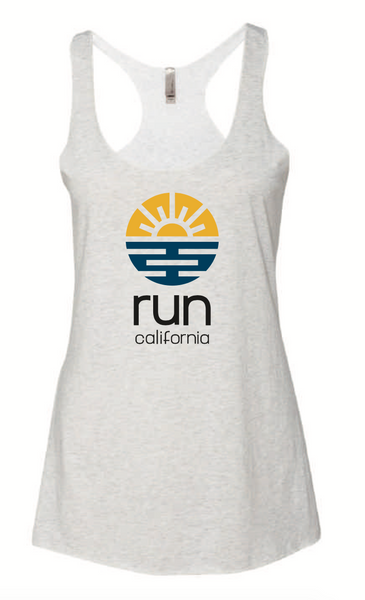 Run California Women's Racer Tank