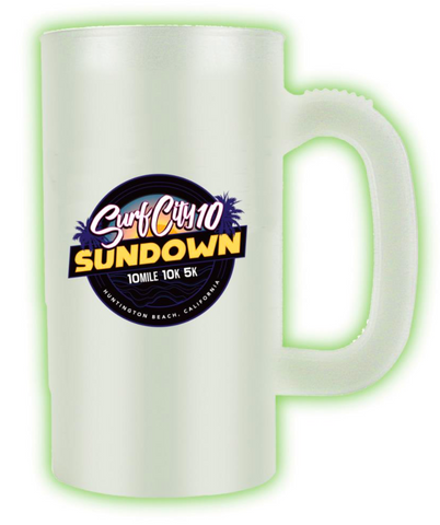 Surf City Sundown: Glow-in-the-Dark Stein