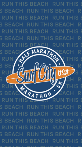 Surf City Marathon 2020 Gaiter