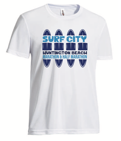 Surf City Marathon Performance Tee