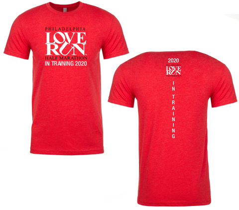 Philadelphia Love Run 2020 In Training Shirt