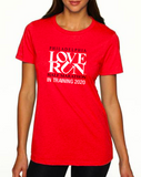 Philadelphia Love Run 2020 In Training Shirt, Women's Cut