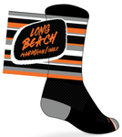 Long Beach Socks: Black