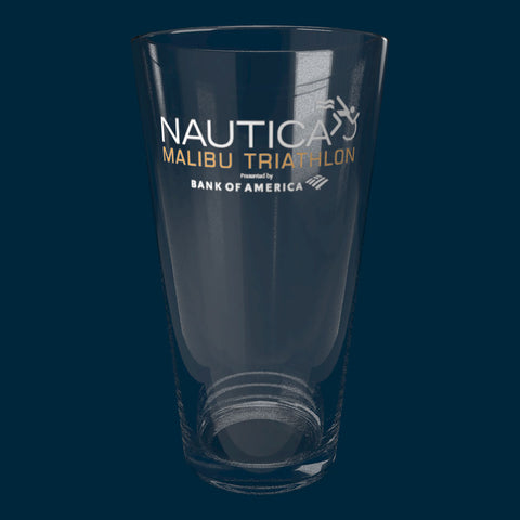 Nautica Malibu Triathlon Pint Glass