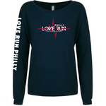Philadelphia Love Run Pulse Tee - Women's