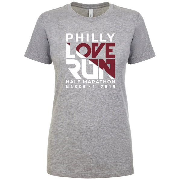 Philadelphia Love Run Venue Tee - Women's