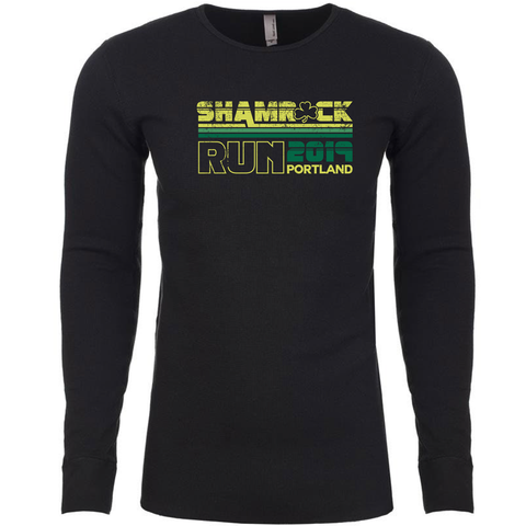 Portland Shamrock Run 2019 Vintage Thermal - Men's - FINAL SALE