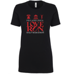 Philadelphia Love Run 2019 Map Tee - Women's