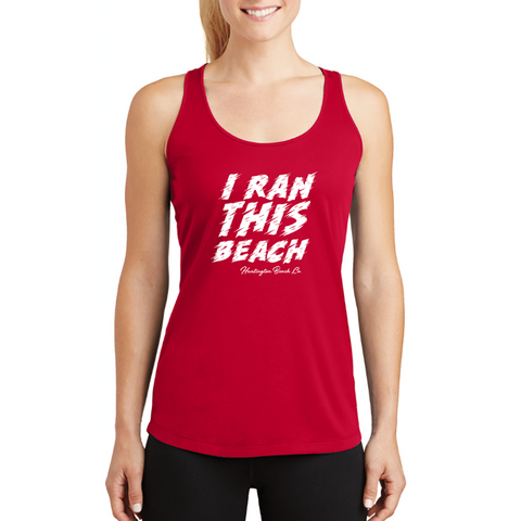 Surf City I Ran This Beach Tech Tank - Women's