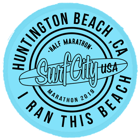 Surf City Marathon 2019 Official Patch