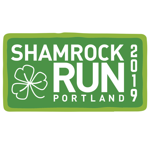 Portland Shamrock Run 2019 Sticker