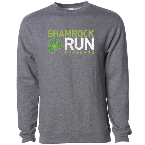 Portland Shamrock Run Official Event Crew Sweatshirt - Unisex