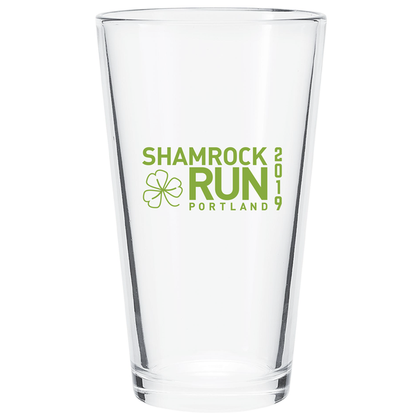 Portland Shamrock Run 2019 Pint Glass