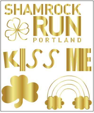 Portland Shamrock Run Tattoo Pack