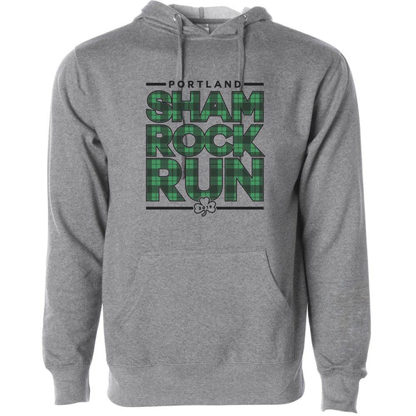 Portland Shamrock Run 2019 Official Hoodie - Unisex