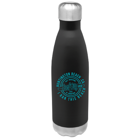 Surf City Marathon 2019 Logo Water Bottle