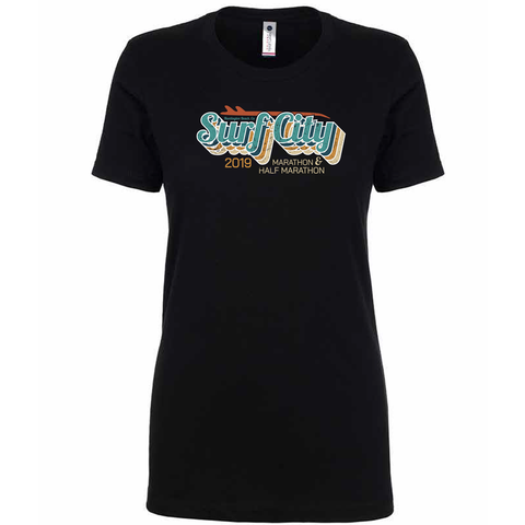 Surf City Marathon Vintage Tee - Women's