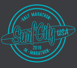 Surf City Marathon Official 2019 Tech Zip - Men's