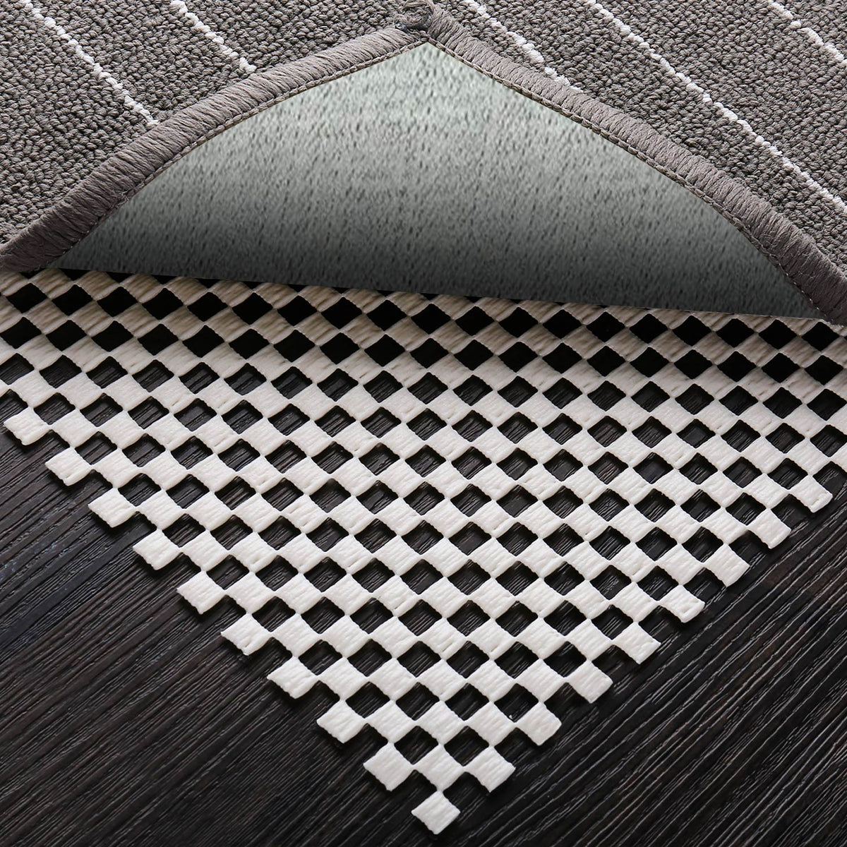 Ophanie Non Slip Rug Pad Gripper For Any Hard Surface