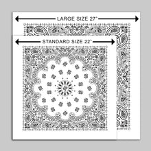 "Load image into Gallery viewer, ""Black Hole Sun"" Large Bandana - Ltd. Edition (only 3 made)"