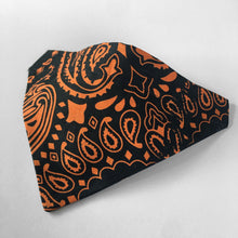 Load image into Gallery viewer, Small Over the Collar Pet Bandana - 2 Color Paisley