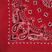 Load image into Gallery viewer, Red Cowboy Bandana
