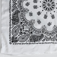 Load image into Gallery viewer, Large White Cowboy Bandana
