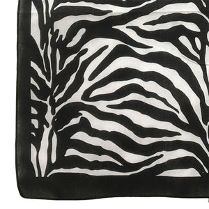 Zebra Animal Print Bandana