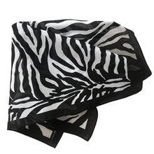 Load image into Gallery viewer, Zebra Animal Print Bandana