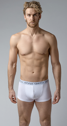 BUTTON FRONT BOXER TRUNKS