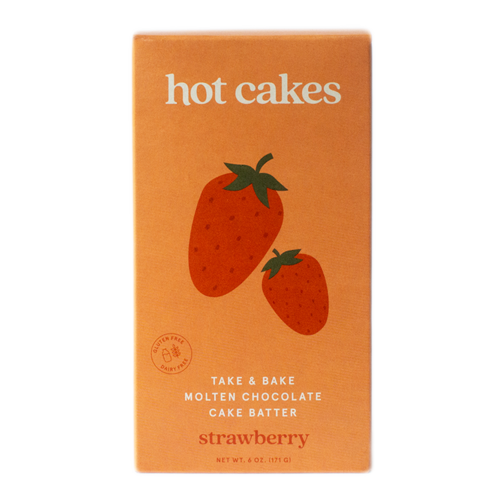 STRAWBERRY MOLTEN CAKE 4-PACK