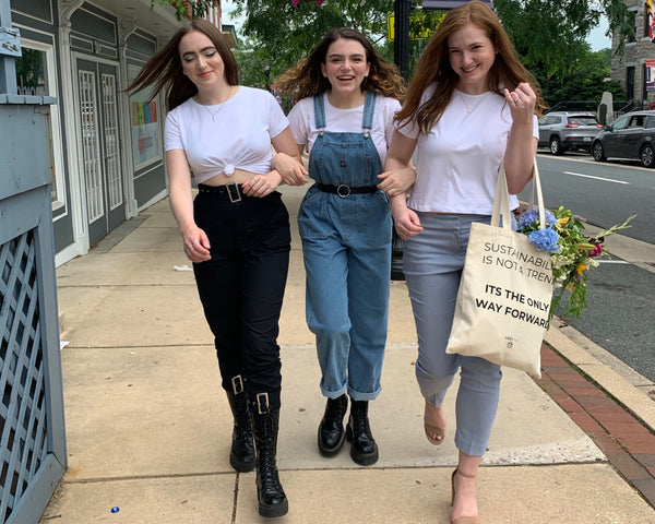 Style Q & A: Three Sisters, Different Styles, One White Tee