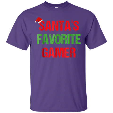Santas Favorite Gamer Funny Ugly Christmas Shirt Gift