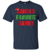 Image of Santas Favorite Gamer Funny Ugly Christmas Shirt Gift